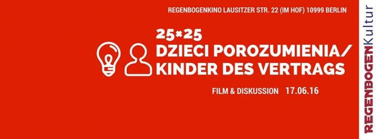Read more about the article 25×25 Dzieci Porozumienia / Kinder des Vertrags