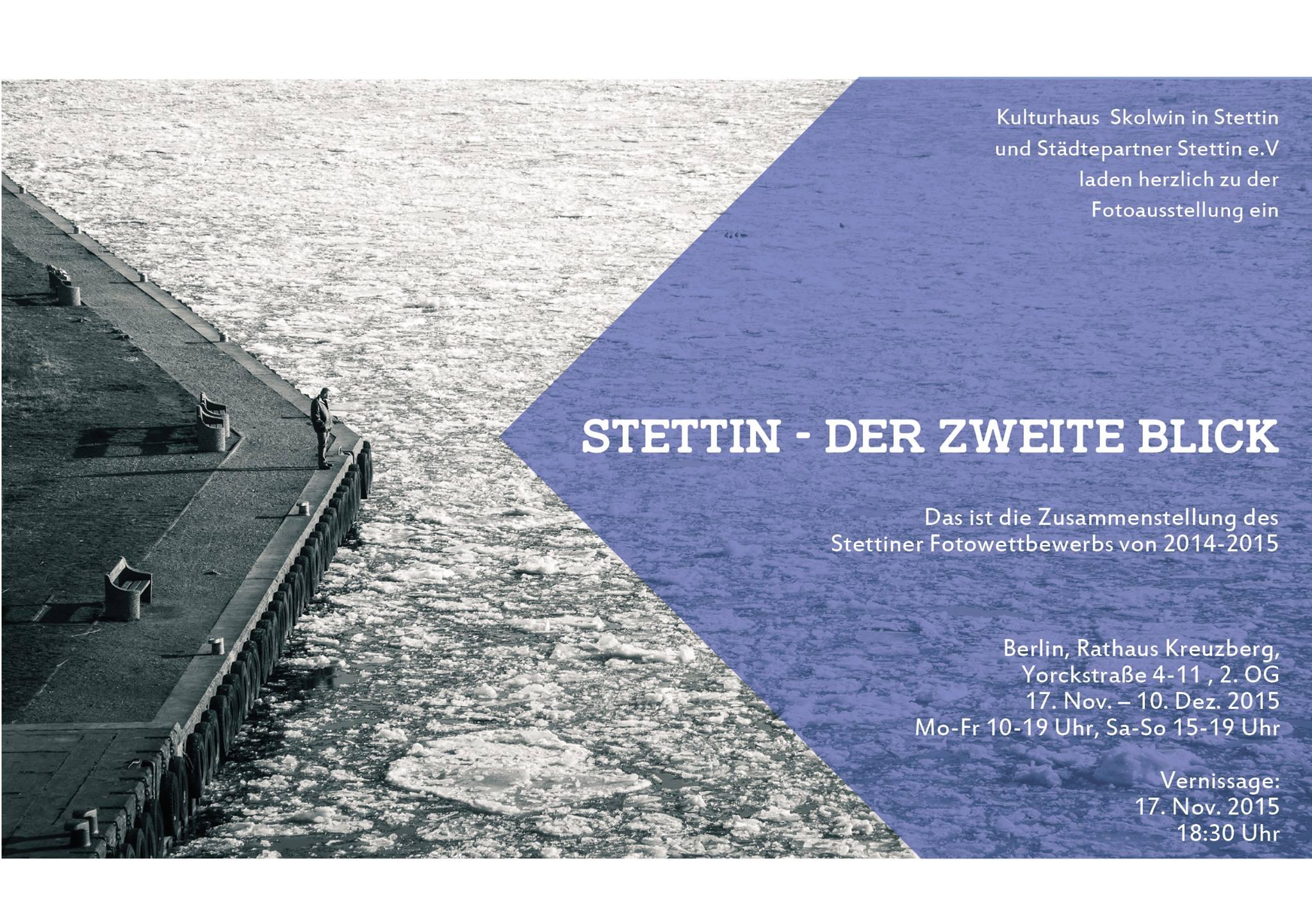 You are currently viewing Fotoausstellung: Stettin – der zweite Blick